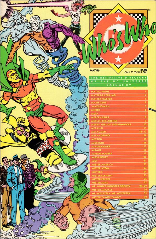 Who's Who: The Definitive Directory of the DC Universe 15-A by DC