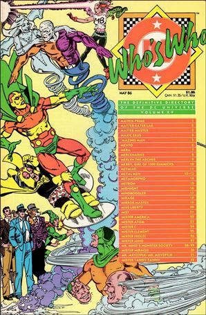 Who's Who: The Definitive Directory of the DC Universe 15-A