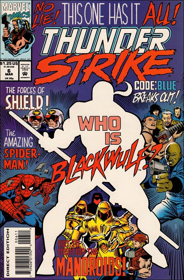 Thunderstrike (1993) 6-A by Marvel