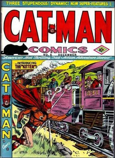 Catman Comics 5-A by Holyoke
