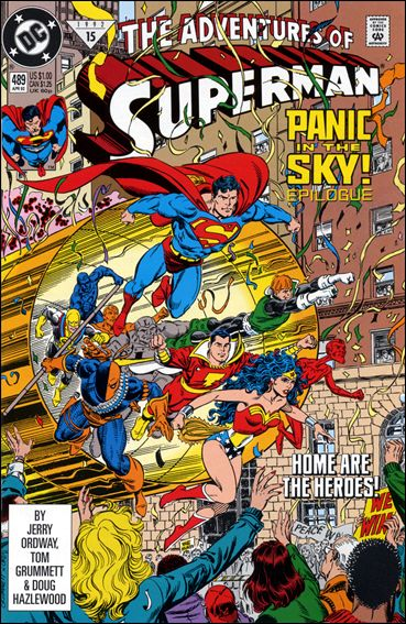 Adventures of Superman (1987) 489-A by DC