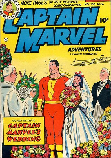 Captain Marvel Adventures 150-A by Fawcett