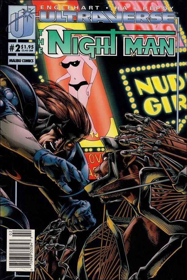 Night Man (1993) 2-A by Malibu