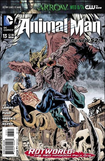 Animal Man (2011) 13-A by DC