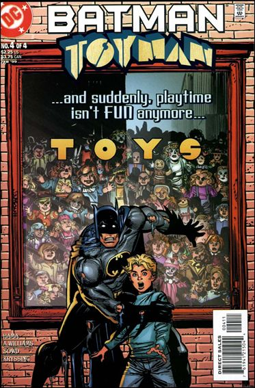 Batman: Toyman 4-A by DC