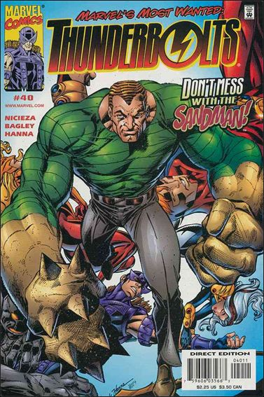 Thunderbolts (1997) 40-A by Marvel