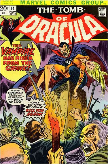 Tomb of Dracula (1972) 14-A by Marvel