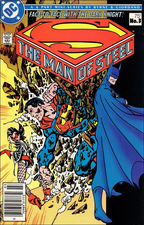 Man of Steel 3-A by DC