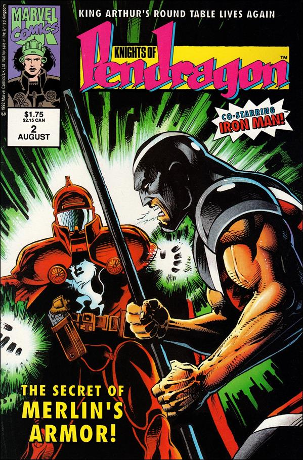 Knights of Pendragon (UK) (1992) 2-A by Marvel UK
