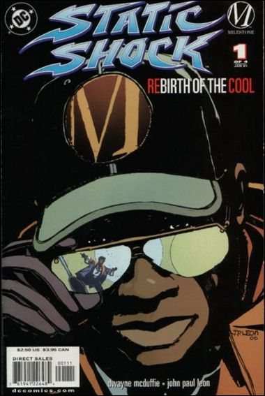 Static Shock!: Rebirth of the Cool 1-A by Milestone