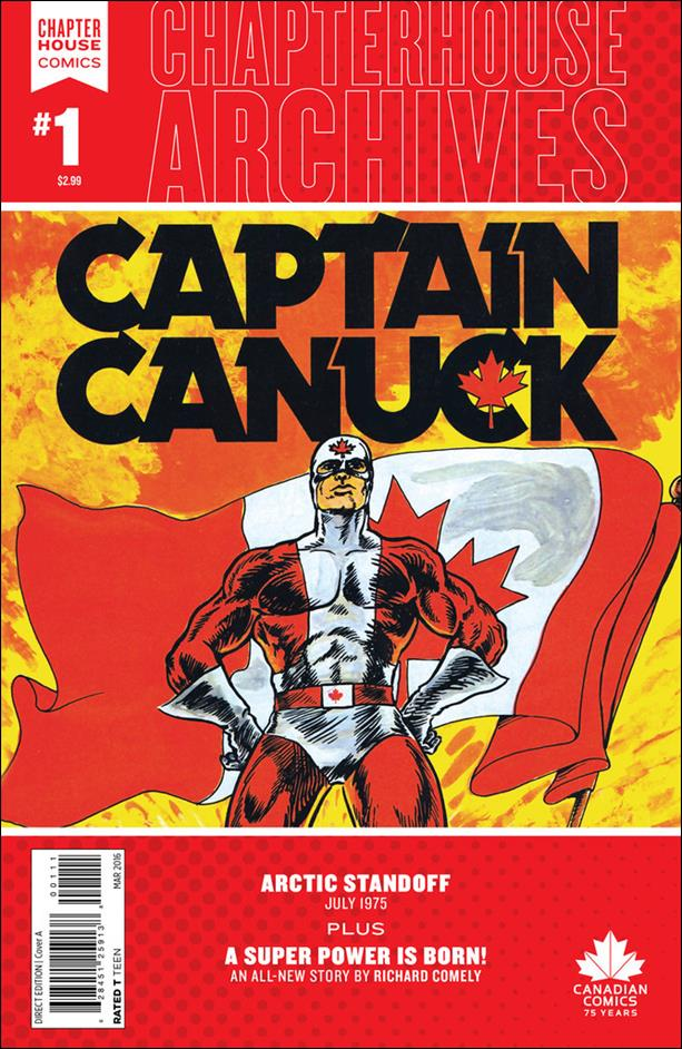 Chapterhouse Archives: Captain Canuck 1-A