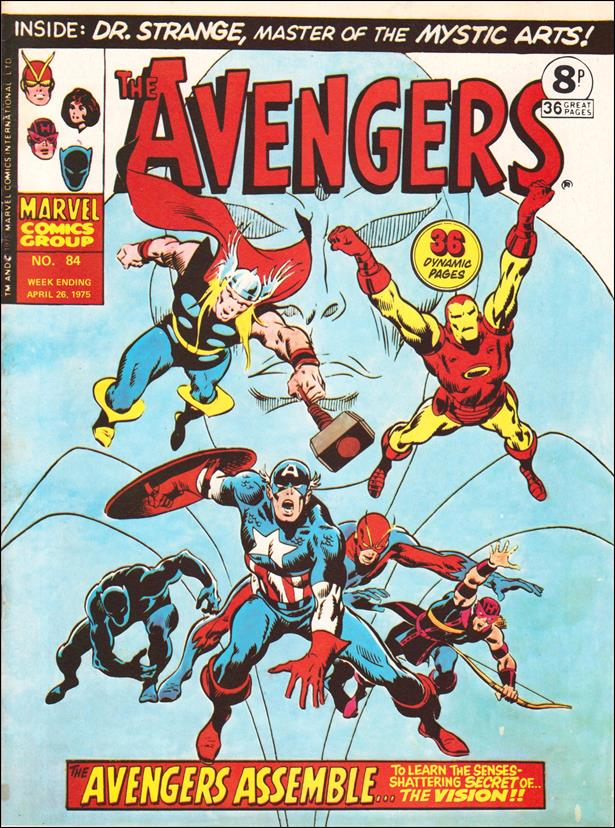 Avengers (UK) 84-A by Marvel UK