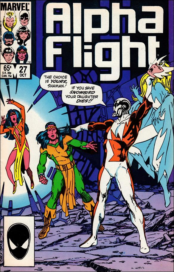 Alpha Flight (1983) 27-A by Marvel