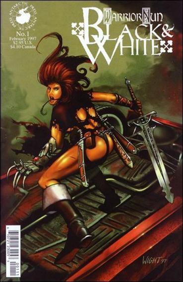 Warrior Nun: Black & White 1-A by Antarctic Press