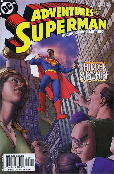Adventures of Superman (1987) 634-A by DC