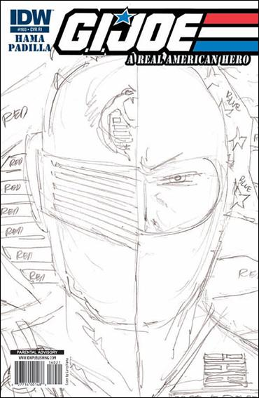 G.I. Joe: A Real American Hero 160-C by IDW