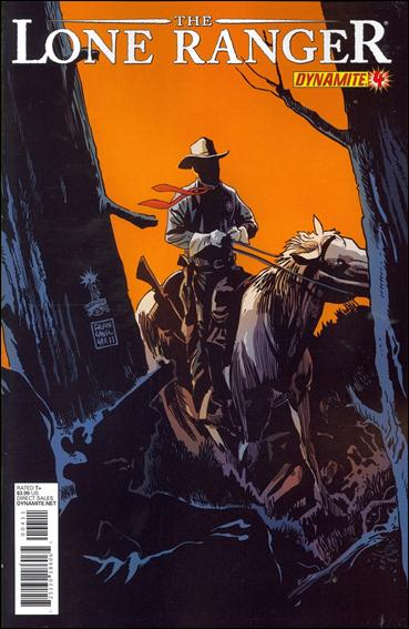 Lone Ranger (2012) 4-A by Dynamite Entertainment
