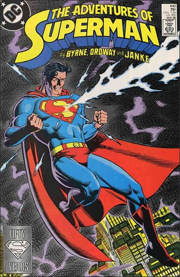 Adventures of Superman (1987) 440-A by DC