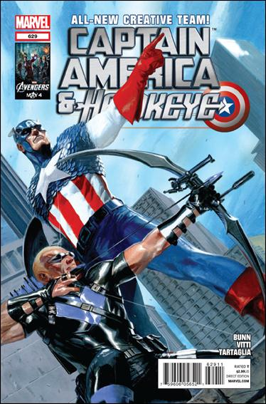 Captain America and Hawkeye 629-A by Marvel