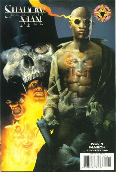 Shadowman (1997) 1-B by Acclaim
