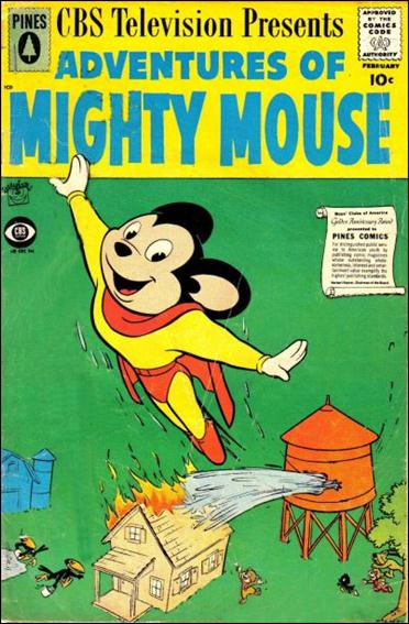 Adventures of Mighty Mouse (1956) 142-A by Pines