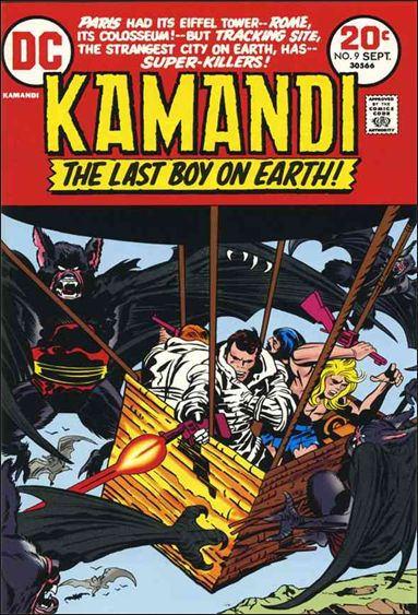 Kamandi, the Last Boy on Earth 9-A by DC