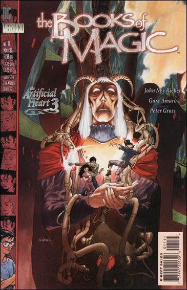 Books of Magic (1994) 11-A by Vertigo