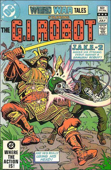 Weird War Tales (1971) 113-A by DC