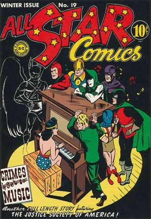 All Star Comics (1940) 19-A