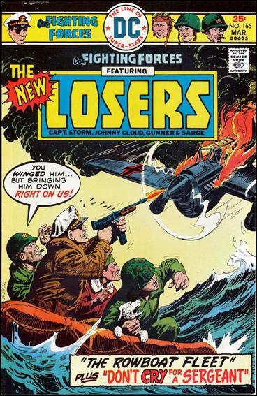 Our Fighting Forces (1954) 165-A by DC