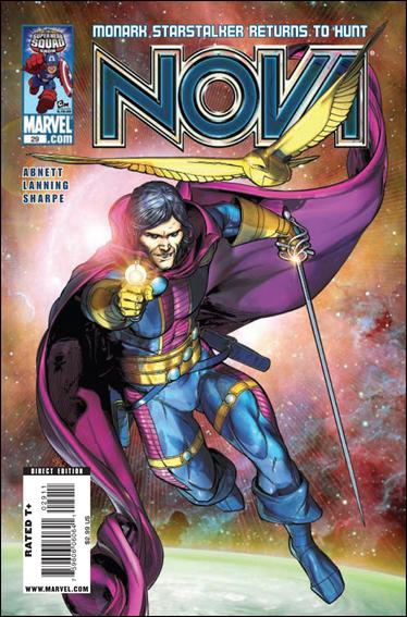 Nova (2007) 29-A by Marvel