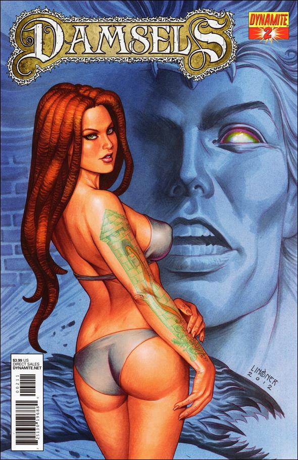 Damsels 2-A by Dynamite Entertainment