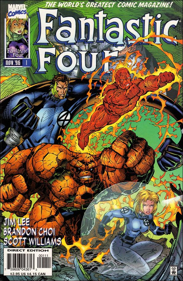 Fantastic Four (1996) 1-A by Marvel