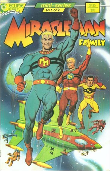 Miracleman Family 1-A by Eclipse