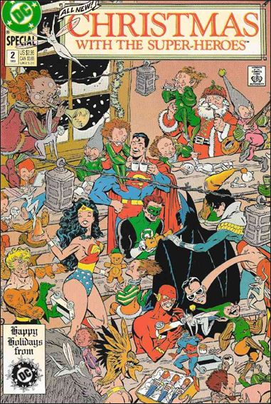 Christmas with the Super-Heroes 2-A by DC