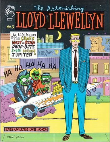 Lloyd Llewellyn 3-A by Fantagraphics