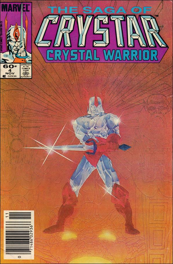 Saga of Crystar Crystal Warrior 4-A by Marvel