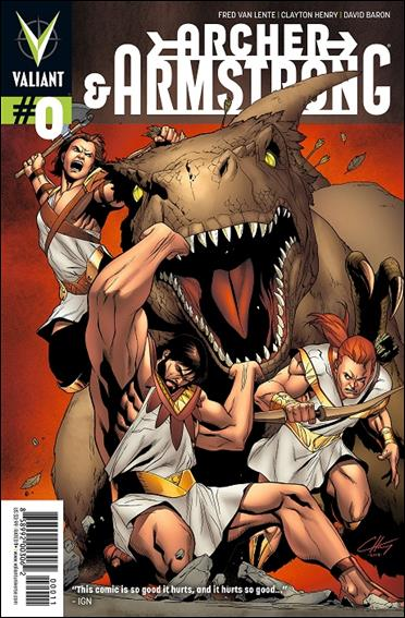 Archer & Armstrong (2012) 0-A by Valiant Entertainment