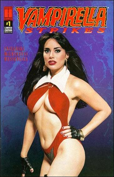 Vampirella Strikes (1995) 1-C by Harris