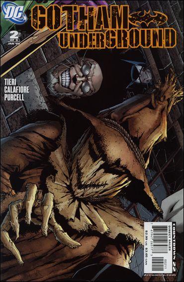 Gotham Underground 2-A by DC