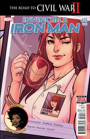 Invincible Iron Man (2015)  10-C