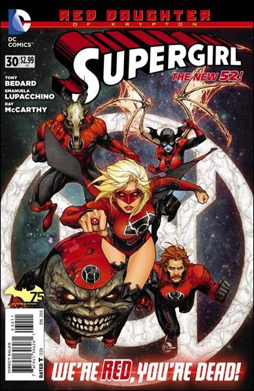 Supergirl (2011) 30-A by DC