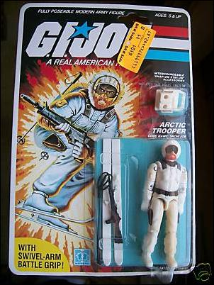G.I. Joe: A Real American Hero 3 3/4&quot; Basic Action Figures Snow Job (Arctic Trooper)  by Hasbro