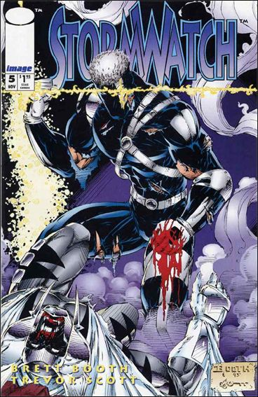 StormWatch (1993) 5-A by Image