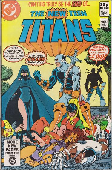 New Teen Titans (1980) 2-B by DC