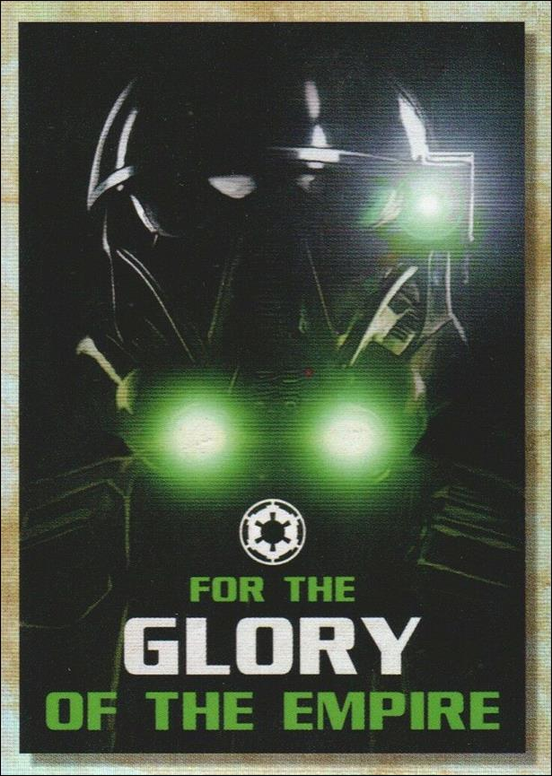 Star Wars Galaxy 2018 (Rogue One Propaganda Subset) RP-9-A by Topps