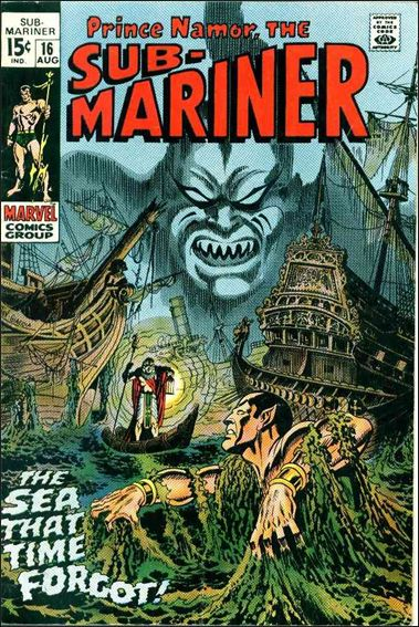 Sub-Mariner (1968) 16-A by Marvel