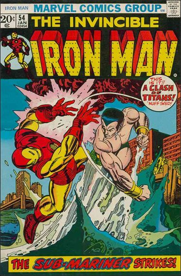 Iron Man (1968) 54-A by Marvel