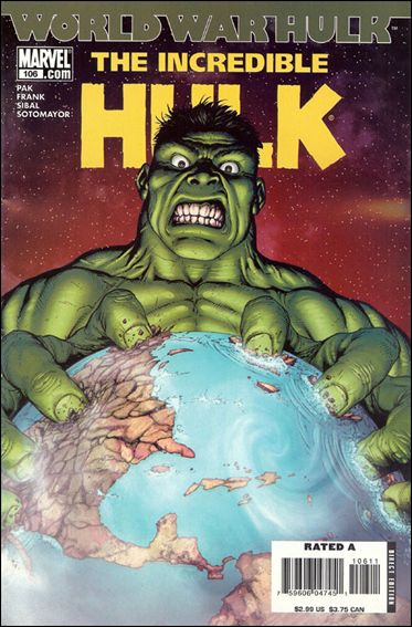 Incredible Hulk (2000)  106-A by Marvel