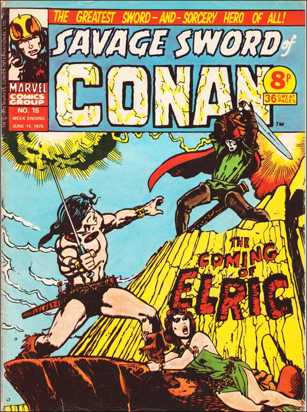 Savage Sword of Conan (UK) (1975) 15-A by Marvel UK
